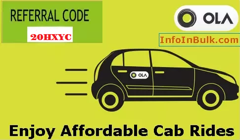 How to Use Ola Cabs App to Book a Taxi